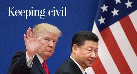 """""""文明冲突""""是特朗普与中国之战最糟糕的争端?"""