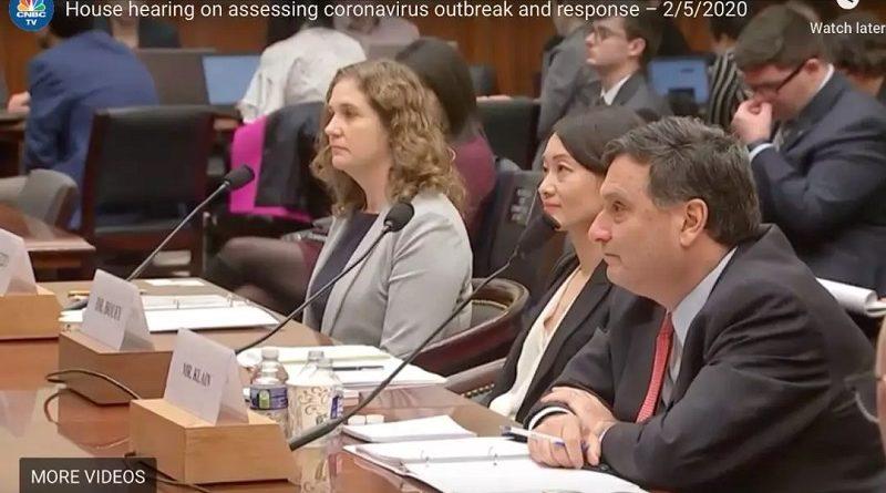 美国众议院关于新型冠状病毒肺炎疫情的听证会